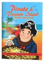 Pirate & Treasure Island Mini Sticker Activity Book