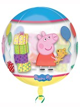 "Peppa Pig Clear Orbz 16"" Foil Balloon"
