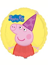"Peppa Pig Birthday 18"" Foil Balloon"
