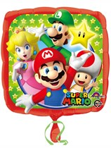 "Super Mario Bros 18"" Foil Balloon"