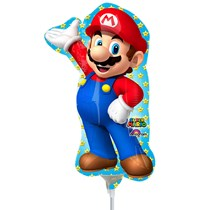 Super Mario Mini Shape Foil Balloon (air fill)