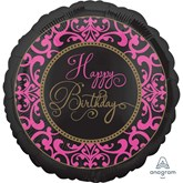"Fabulous Celebration Happy Birthday 18"" Foil Balloon"