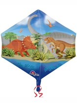 """Dinosaur World 21"""" Supershape Foil Balloon"""