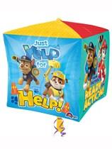"""Paw Patrol 15"""" Cubez Foil Balloon"""