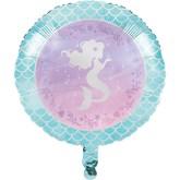 """Iridescent Mermaid 18"""" Foil Balloon"""