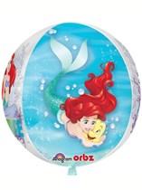 "Ariel Dream Big Clear 16"" Orbz Balloon"