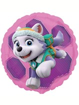 "Pink Paw Patrol 18"" Double-Sided Foil Balloon"