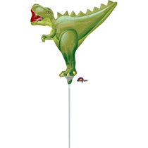 T-Rex Dinosaur Foil Mini Shape Balloon