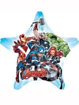 "Avengers Star Shaped 29"" Supershape Foil Balloon"