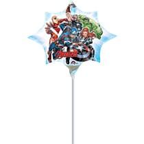 "Avengers Mini Shape 10"" Air Fill Foil Balloon"