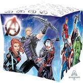 """Marvel Avengers Cubez 15"""" Foil Balloon"""