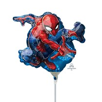 Spider-Man Mini Shape Foil Balloon (air fill)