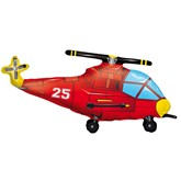 Helicopter Supershape Foil Balloon 36""
