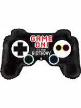 "Game Controller 36"" Birthday Foil Balloon"