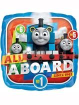 "Thomas & Friends 17"" Square Foil Balloon"