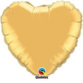 "Metallic Gold 36"" Heart Foil Balloon"