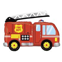 """Fire Engine Truck 40"""" Foil Balloon"""