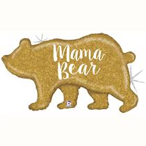 "Mother's Day Holo Mama Bear 39"" Foil Balloon"