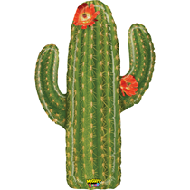 "Mighty Bright 41"" Cactus Foil Balloon"