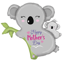 "Happy Mother's Day Koala 35"" Foil Balloon"