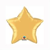 "Metallic Gold 9"" Star Foil Balloon"