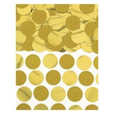 Gold Foil Circle 20mm Confetti 63grams
