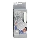 Flutter Fetti White Confetti Value Pack 6pk