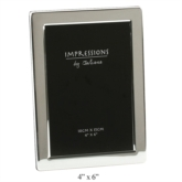 Impressions by Juliana Silver Picture Frame