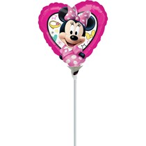 Minnie Mouse Mini Shape Foil Balloon (air fill)
