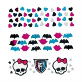 Monster High Confetti - 3pk