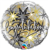 "18"" Congratulations Foil Balloon"