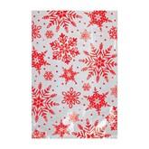 Christmas Snowflake Cello Treat Bags 25pk
