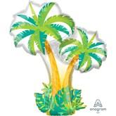 """Tropical Palm Trees 34"""" Foil Balloon"""