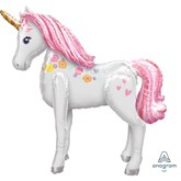 Magical Unicorn Airwalker Foil Balloon