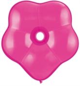 "16"" Wild Berry GEO Blossom Latex Balloons 25pk"