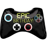 "Epic Game Controller 28"" Foil SuperShape Balloon"