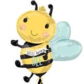 "Little Honey Bee 30"" Foil SuperShape Balloon"