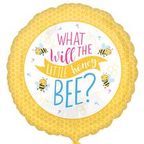 "Gender Reveal Bee 18"" Foil Balloon"
