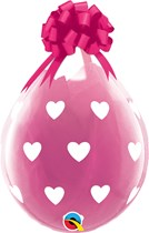 "Big Hearts 18"" Latex Stuffing Balloons 25pk"