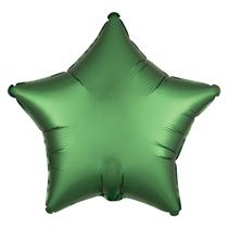 Satin Luxe Emerald Star Foil Balloon