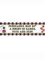 Casino Giant Personalised Banner