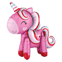 "Magical Pink Unicorn 22"" Multi Foil Balloon"