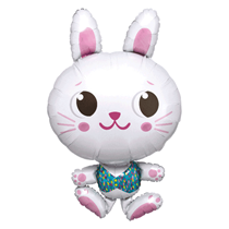 "Easter Bunny 34"" SuperShape Foil Balloon"