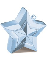 Pearl Light Blue 5oz Star Balloon Weight