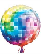"""70s Disco Ball Jumbo Foil Balloon 32"""""""