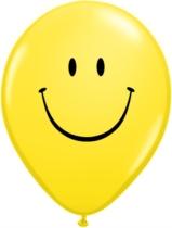 """Smiley Face 11"""" Latex Balloons 25pk"""