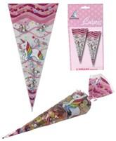 Unicorn Sweet Cone Bags 6pk