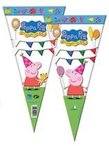 Peppa Pig Cone Sweet Cones 6pk