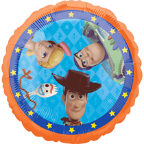 "Disney Toy Story 4 2-Sided 18"" Foil Balloon"