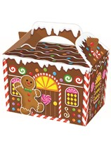 Christmas Gingerbread House Party Box